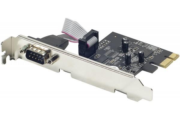 Carte PCI-Express 1X – 1 port serie RS232