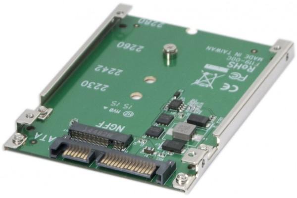 Adaptateur M.2 NGFF SSD vers SATA 2,5″