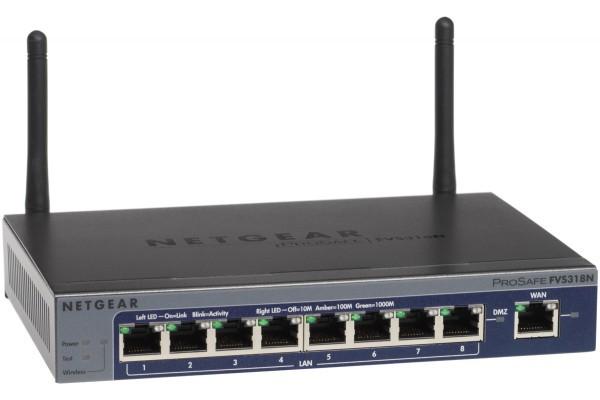 Netgear FVS318N routeur 8P Gigabit 5 VPN et WiFi 300M