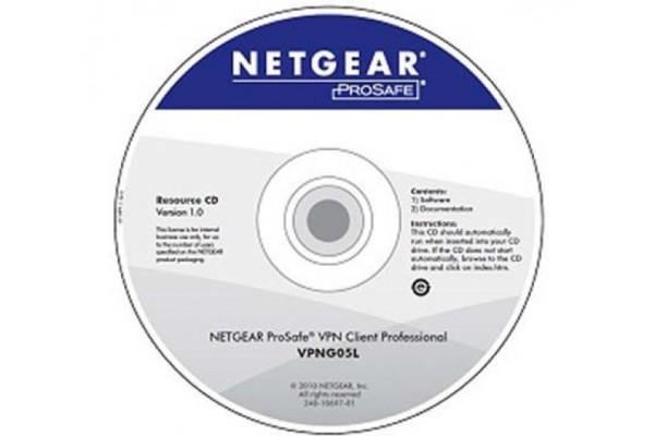 Netgear VPNG05L client vpn professionnel (5 licences)