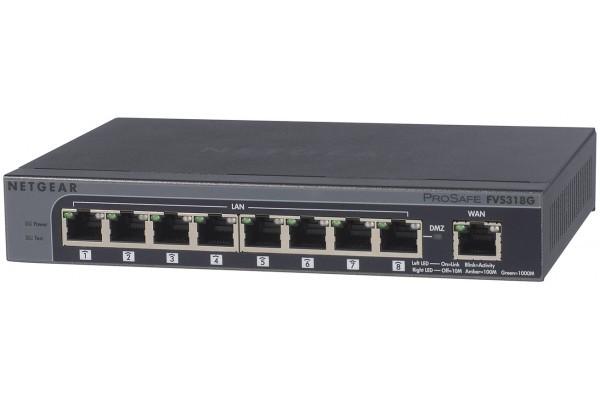 Netgear FVS318G routeur 1 Wan+8 Lan Gigabit + 5 tunnels VPN