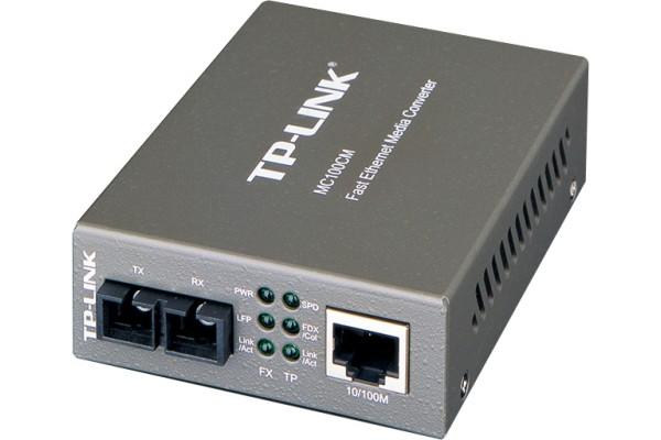 Convertisseur Fibre TP-Link 100Base-TX/100Base-FX – RJ45/SC