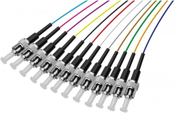 PIGTAIL OS1 ST/UPC LSOH 12 CONNECTEURS – 2m