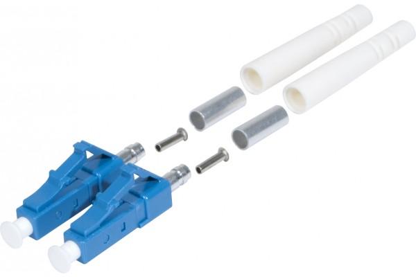 Connecteur LC-PC simplex monomode 3 mm