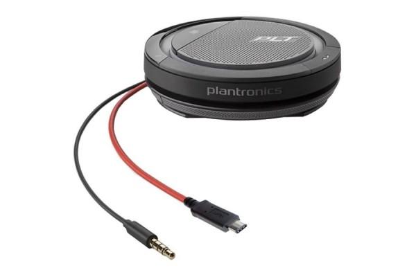 PLANTRONICS Calisto 5200 Mini conférencier USB-C + Jack 3,5 mm