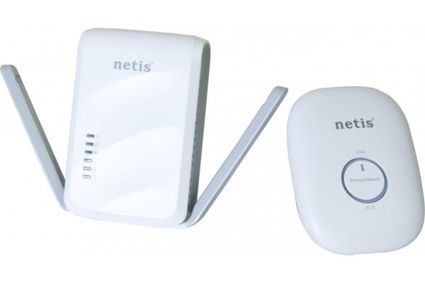 Netis PL7622 kit CPLl AV600 + récepteur CPL/WiFi 300Mbps