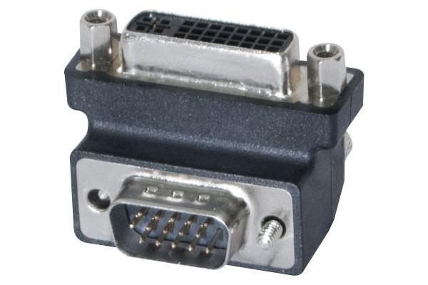 ADAPTADOR DVI-I F /M VGA CODO