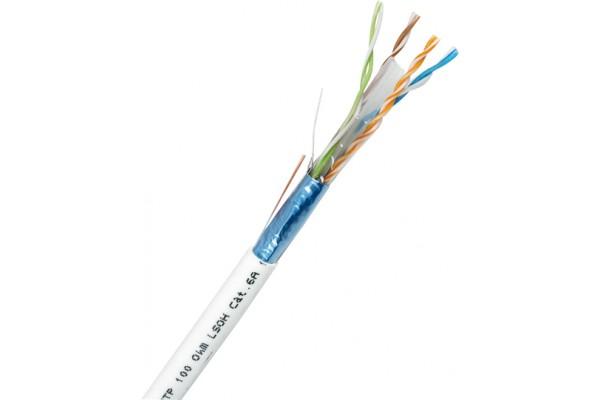 Cable monobrin CAT6a f/utp lsoh 500 m
