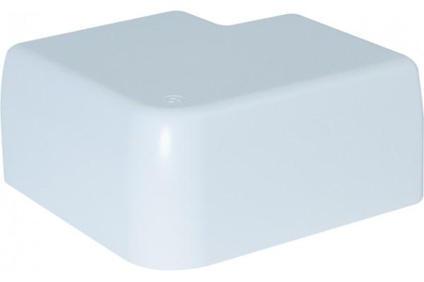 Angle plat fixe 90×55 – blanc neige