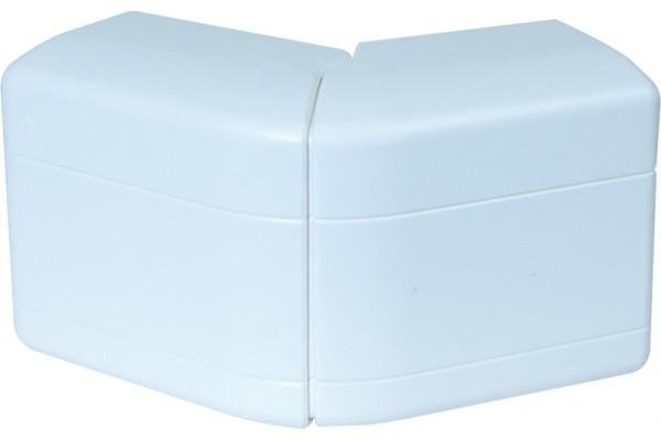Angle extérieur variable 90×55 – blanc neige