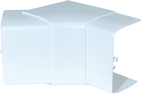 Angle intérieur variable 90×55 – blanc neige
