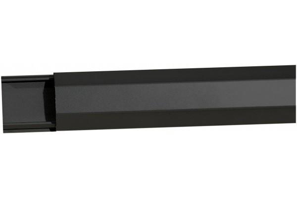 Goulotte alu noire 1100 x 50 mm