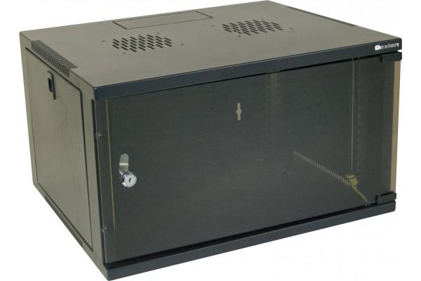 "Coffret 19"" Eco 6U Noir Prof 450 Mm"