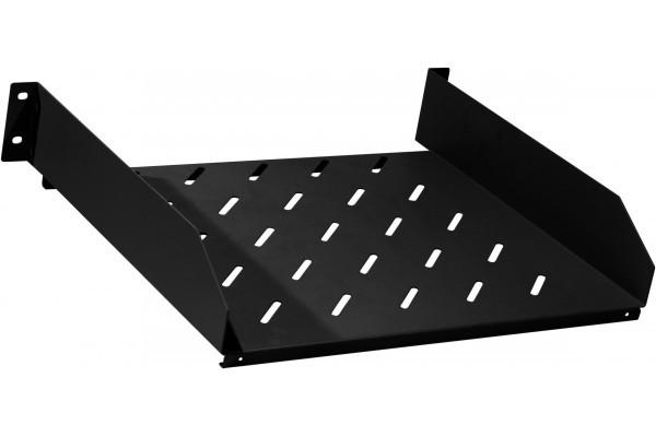Etagère 2U noire prof 250 mm