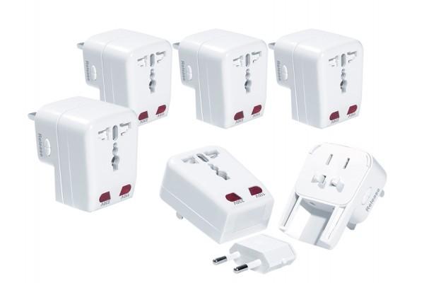 Pack de 5 adaptateurs 150 pays