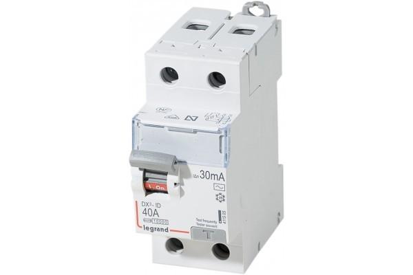 Interupteur Differentiel40 Amp Bipolaire 30 Ma