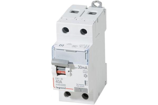 Interupteur Differentiel 40 Amp Bipolaire 30 Ma