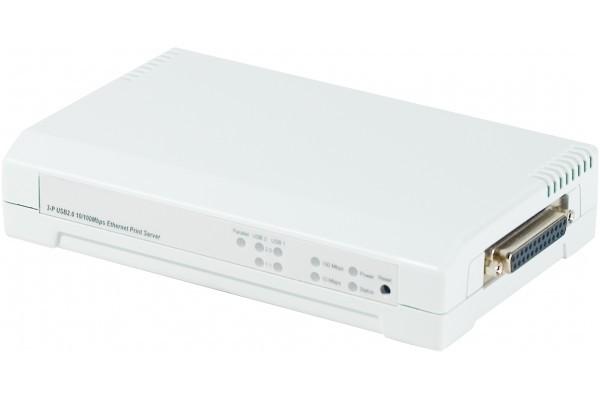 Serveur impression RJ45 Multi protocole – 2 port USB + 1 //