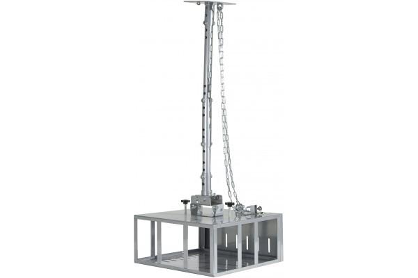 Support Plafond Vidéoprojecteur Caisson - Sécurisé 860 Mm
