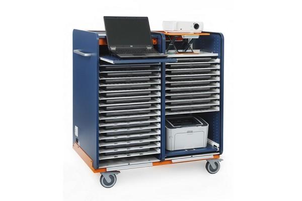 Armoire de rangement pour 16 PC portables +1 PC prof
