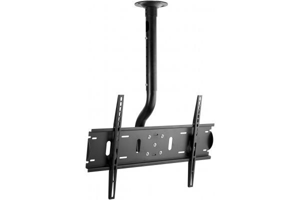 Bras plafond pour LCD et Plasma – 37 à 60″/Jusqu'à 75 kg