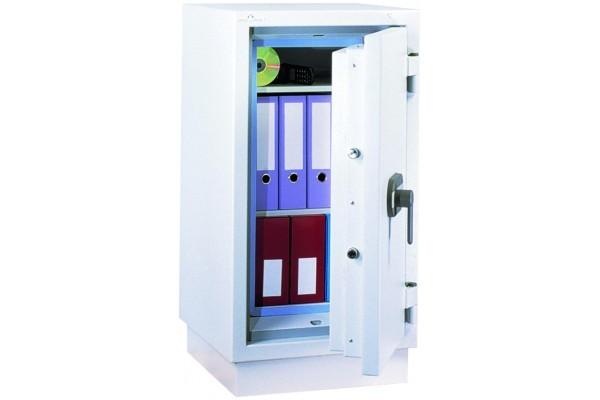 Armoire ignifuge/antivol pour papiers 110L à clé classe 1