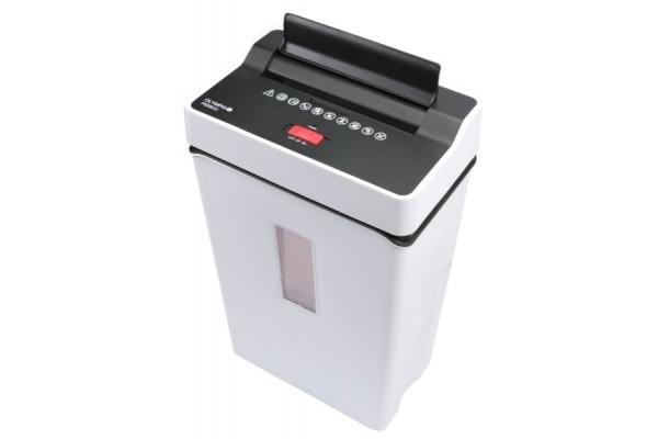 Destructeur documents & cb 6 feuilles / 7 litres – blanc