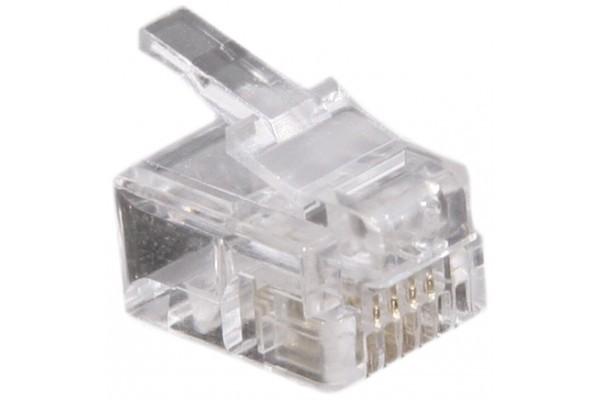Connecteur RJ11 4/6 – sachet de 50