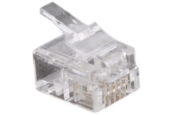 Connecteur RJ11 4/6 – sachet de 10