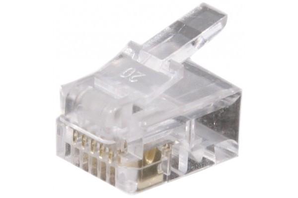 Connecteur 6/6 RJ12 – sachet de 1000