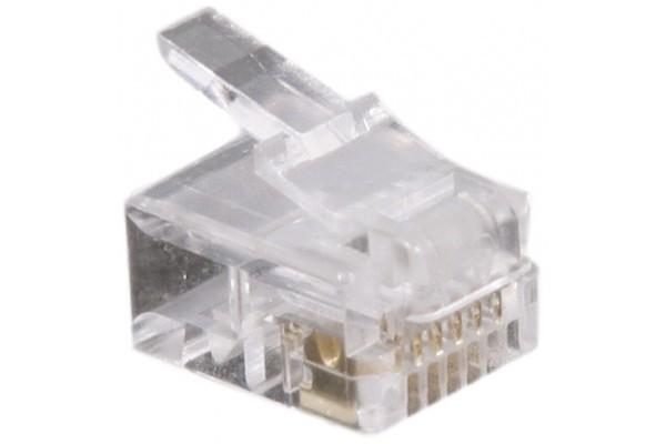 Connecteur 6/6 RJ12 – sachet de 10