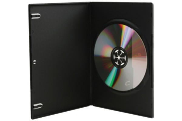 Boitier dvd slim noir pack 10