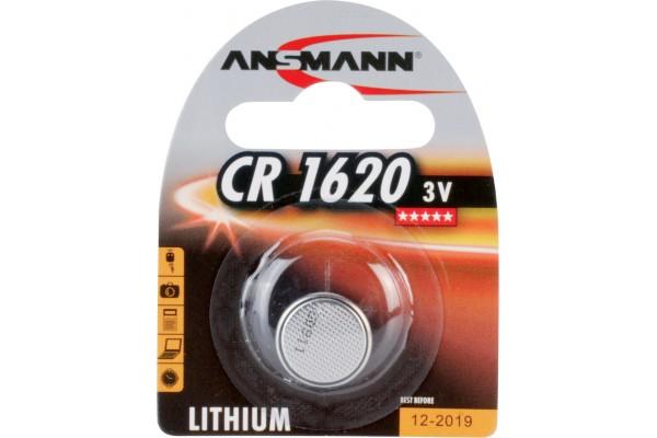 Bouton CR1620 3 v – lithium