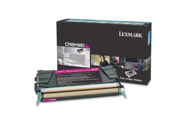 Toner LEXMARK C748H3MG C748 – Magenta