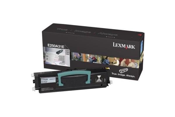 Toner LEXMARK E250A31E – Noir