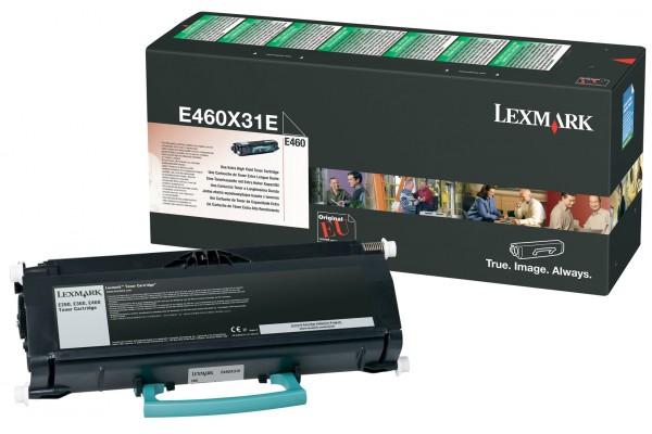 Toner LEXMARK E460X31E E460TR – Noir