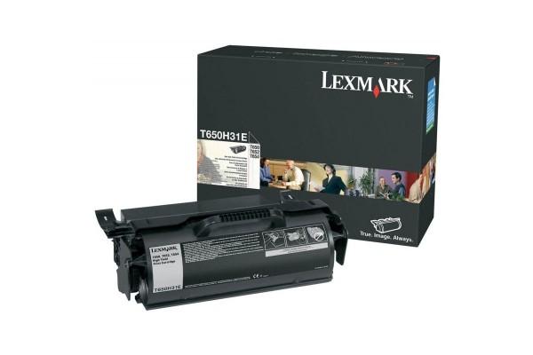 Toner LEXMARK T650H31E T65X – Noir