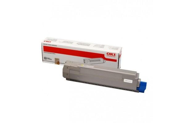 Toner OKI 44643001 C801 C821 – Yellow